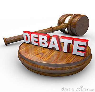 Debate - Judge Gavel And Word Stock Images - Image: 18857874