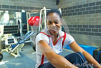 Debbie Dunn US 400m Sprinter Editorial Stock Image