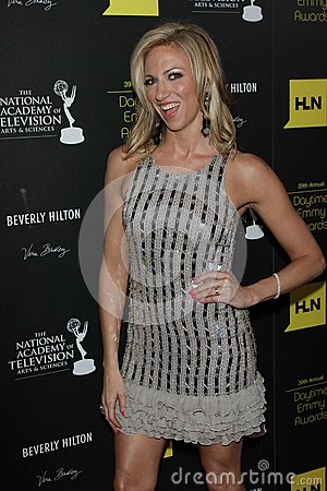 Debbie Gibson at the 39th Annual Daytime Emmy Awards, Beverly Hilton, Beverly Hills, CA 06-23-12 Editorial Photo