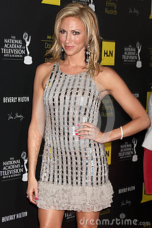Debbie Gibson arrives at the 2012 Daytime Emmy Awards Editorial Photography