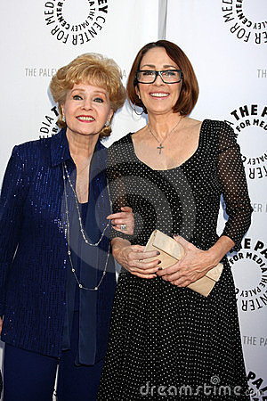 Debbie Reynolds, Patricia Heaton Editorial Stock Photo
