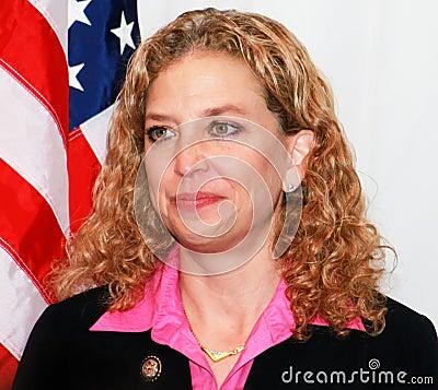 Debbie Wasserman Schultz Editorial Photo