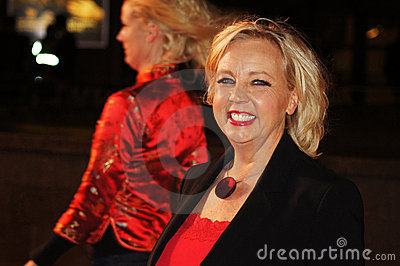 Deborah Meaden At The Red Premiere Editorial Stock Photo
