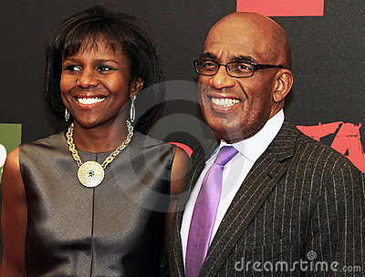 Deborah Roberts and Al Roker Editorial Stock Image