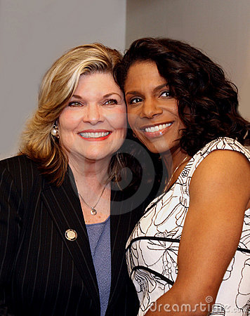 Debra Monk and Audra McDonald Editorial Photo