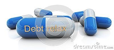 Debt relax pills