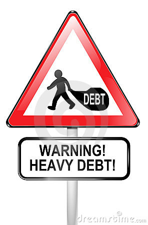 Debt warning.