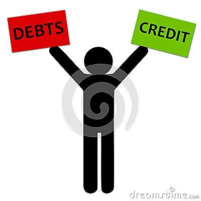 Debts and credit