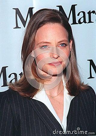 Ingrid Bergman,Jodie Foster Editorial Photo