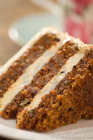 Free Decadent Carrot Cake Stock Photo - 17113540