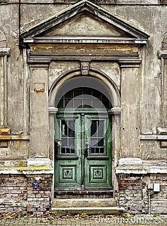 Decayed front door