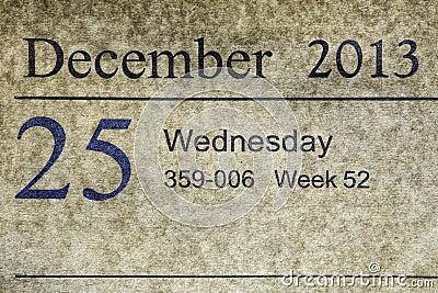 25-12-2013 Stock Photo - Image: 35257130