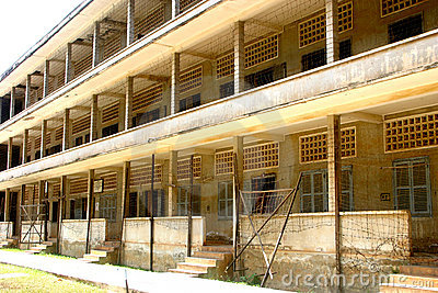 Deceptive tranquility, Tuol Sleng Prison, Cambodia
