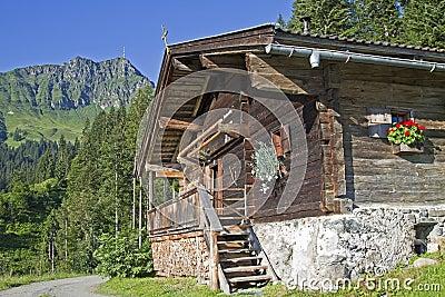 Dechant hut in Tyrol