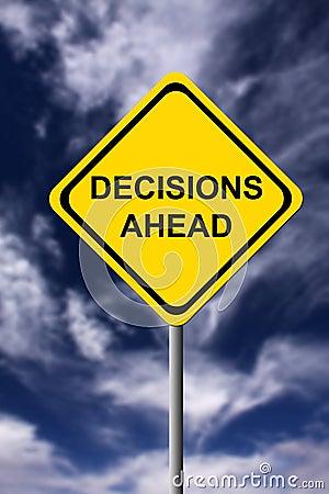 Free Decisions Ahead Stock Photo - 16992510