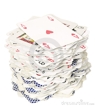 Deck of cards with ace first