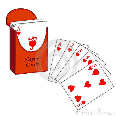 Deck of Cards, Flush