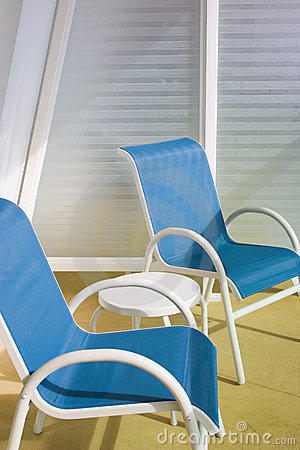 Free Deck Chairs Royalty Free Stock Photo - 524775