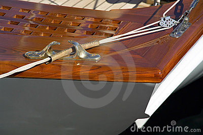 Deck and cleat detail