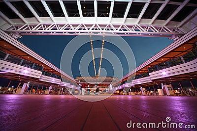 Deck of Costa Deliziosa - the newest Costa cruise Editorial Image