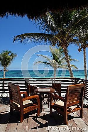 Deck Overlooking Beach