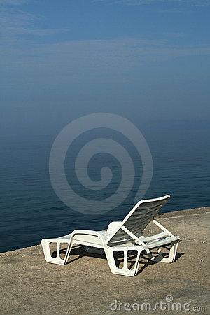 Deckchair In Morning Haze. Royalty Free Stock Photo - Image: 11592345