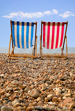 Free Deckchairs Stock Image - 2890881