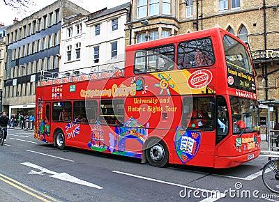 Decker autobusowa kopia Zdjęcie Stock Editorial