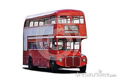 Decker dwoisty autobus