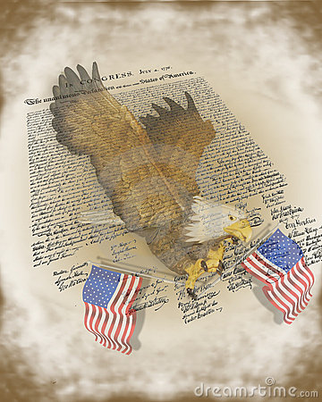 Declaration of independence 4Th July Background