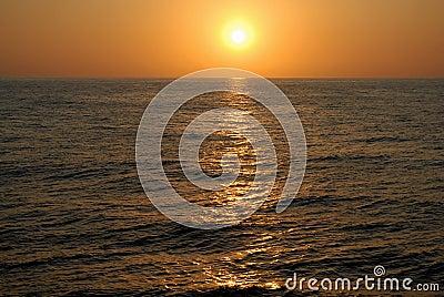 Decline at ocean