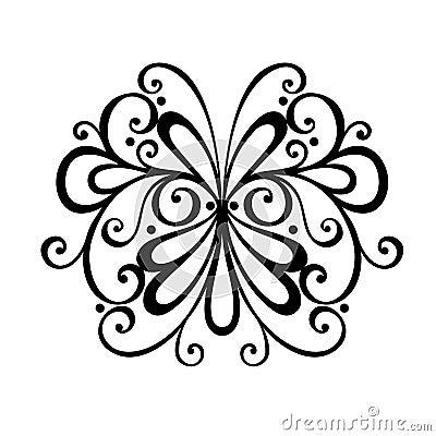 Deco Abstract Symmetric Element