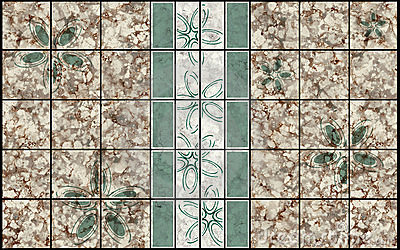 Decor mosaic pattern