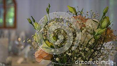 Decoração da flor do casamento filme
