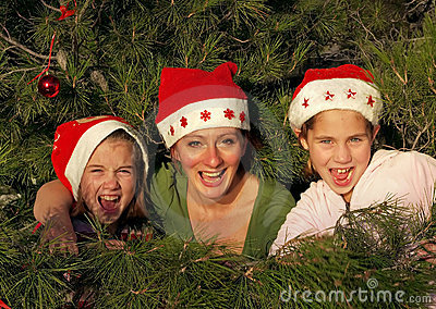 Decoração em minha árvore de Natal