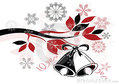 Decoración de la Navidad con las alarmas