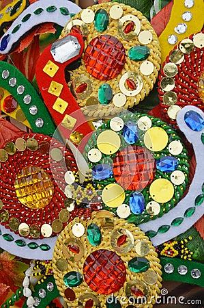 Decoración de las gotas de las baratijas