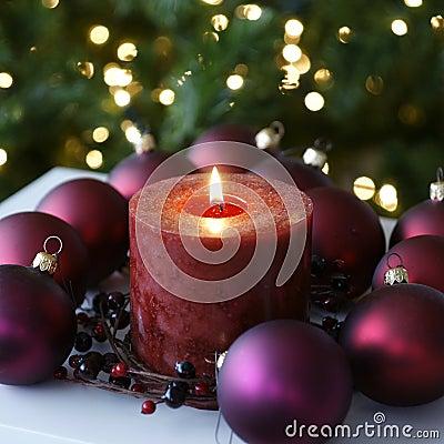 Decoraciones caseras de Navidad de la Navidad