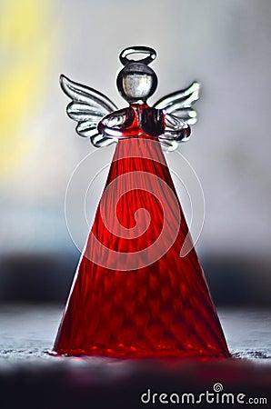 Decoração do anjo