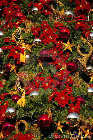 Decorated Christmas Tree Royalty Free Stock Photos - Image: 12001848