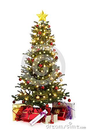 Free Decorated Christmas Tree Stock Photos - 16293573