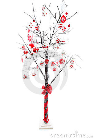 Free Decorated Christmas Tree Stock Photography - 16556012