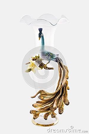 Free Decorated Glass Vase Stock Image - 13930131