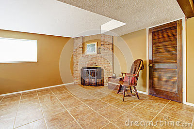 rustic empty living room carpet | Decorated Living Room Corner Stock Photo - Image: 40529104