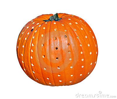 Decorated Pumpkin