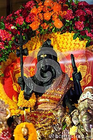 Decorated Shiva Statue