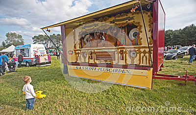 Decorated Street organ Editorial Image