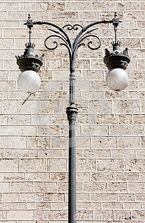 Decorated Streetlamp