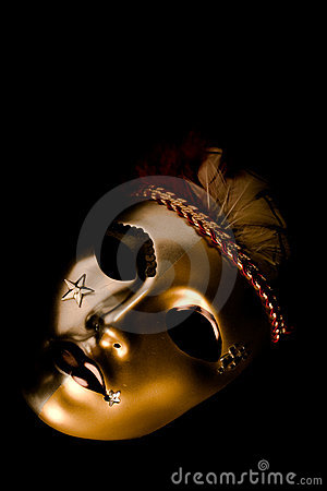 Decorated Venetian Mask