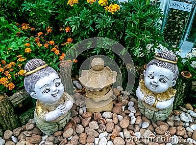 Decoratief voor tuin stock foto afbeelding 54445304 - Tuin grind decoratief ...
